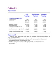 acc 305 week 4 p9 1 Acc 305 week5 may 4 1 pages acc-305-week-5-ethics-case-10-12 ashford  university  acc-305 week 4 - e8-13, e8-14, e8-18, p8-5, e9-19, e9-21, p9-1.