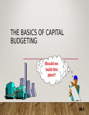 1. FM The Basics of Capital Budgeting.ppt