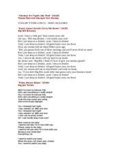 Unit 3 Lyrics