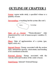 OUTLINE OF CHAPTER 1