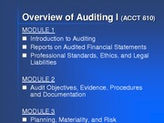 Auditing PP