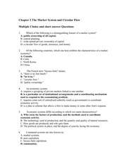 Chapter 2 Homework Questions and Answers