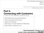 Session 8 - MG 220 MBA - 16 Sep 10