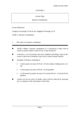 Lecture 4 - Business Combinations student notes 2012.doc