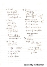 Integration by part homework