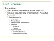Land Economics one with questions(1)