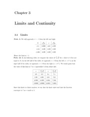 Homework+Solutions on Limits and Continuity