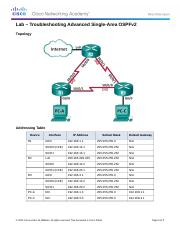 5.2.3.4 Lab - Troubleshooting Advanced Single-Area OSPFv2.docx