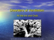 Disorders of Ventilation