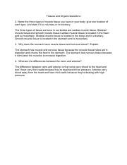 Tissues and Organs Questions.pdf