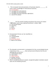 IMS 3310 Q1-sample and essay quesitons (1)