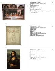 biography and high renaissance