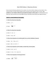 Math 0980 Midterm 1 Objectives Review-2.docx