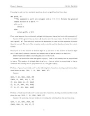 Exam 1 Solution Fall 2010