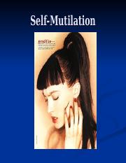 Self-Mutilation Lecture.ppt