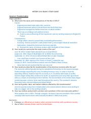 HISTORY 2111 EXAM 2 STUDY GUIDE.docx