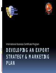 developinganexportstrategymarketingplan1-100331042135-phpapp02 (1).pptx