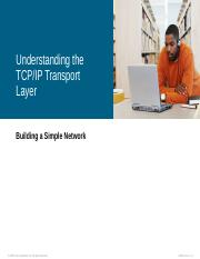 8. Understanding The TCP IP Transport Layer.pps