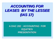 ACCOUNTING_FOR_LEASES