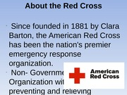 red cross power point