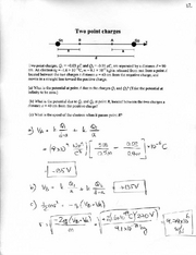 Online Homework 12 Solutions
