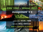 ENVS1000-W2013-Assignment-3-Instructions(2)
