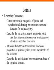 Lecture week 2 - joints-2016
