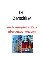 Week 8 - Negating a Contract and Terms(1).pptx