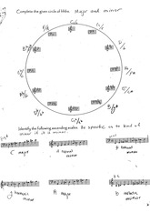 Circle of Fifths Exam