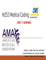 HI253 Medical Coding I_U7_1702A