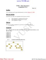 Data Structures - CS301 Fall 2009 Assignment 04.pdf