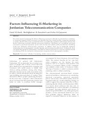 e marketiong and telecomunication.pdf