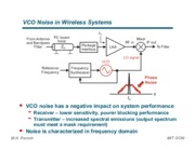 VCO Noise in Wireless Systems notes