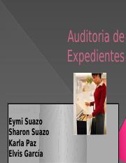 Auditoria de Expedientes
