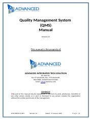 AITS-IMS-M-Q-001- Quality Manual_orig2.doc
