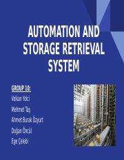 Automation and storage retrieval systems.pptx