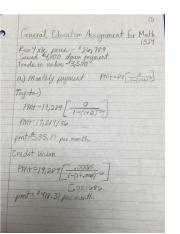 General Education Assignment for Math 1324.docx