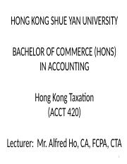 Lecture 1 - Introduction To  General HK Taxation.pptx