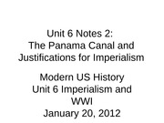 Unit 6 2012 Notes 2-Panama Canal-4