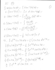 Math 202 Notes on Integration by Parts