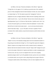 ian milner s structure ian milner in his essay structure and ian milner s structure ian milner in his essay structure and quality in silas marner argues that george eliot in a few pages of ch ii builds up a