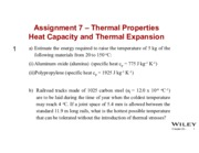 Yose - Assignment 7 - Thermal Properties