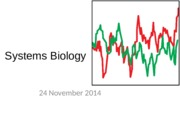 24. Systems Biology