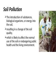 soil pollution facts