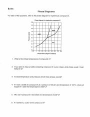 phase diagram worksheet 770 c 2 if you were to have a bottle containing compound x in your. Black Bedroom Furniture Sets. Home Design Ideas