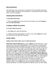 microsoft word project penn foster fact sheet View essay - graded project1 from english co 250394rr at penn foster college  graded project microsoft word 1 create and edit a cover letter 1 create a fact sheet.