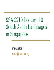 SSA 2219 Lecture 10.ppt