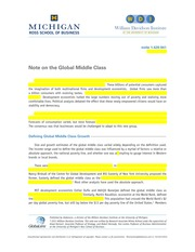 global-middle-class - business insight case