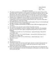 CIS 333 Lab 5 Answers