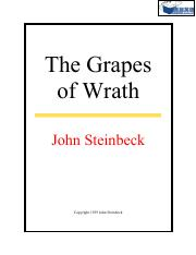 John Steinbeck - The Grapes Of Wrath(1939)